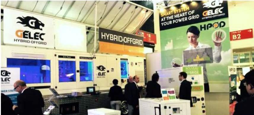 Hybrid Power Station at Intersolar Munich