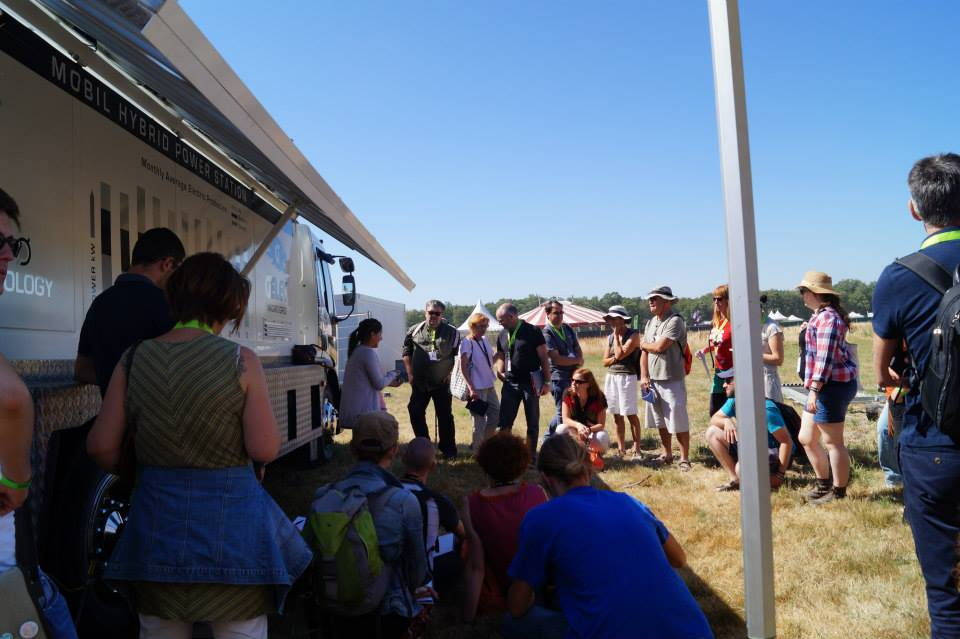 Hybrid Power Station GELEC au festival Terres du Son