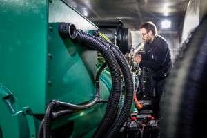 Maintenance groupe électrogène diesel