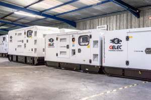 Stock de groupes électrogènes diesel GELEC