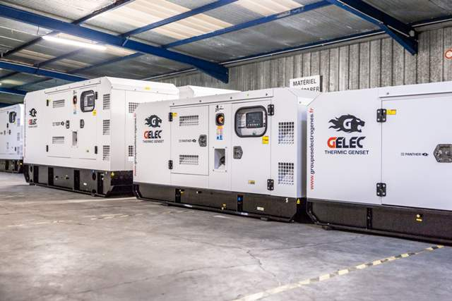 GELEC Energy stock of generators