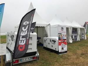 Groupe électrogène diesel CUMA 2017