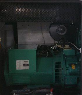 Groupe électrogène Gelec équipé de filtres à particules