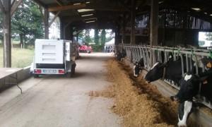 portes ouvertes Groupe électrogène élevage laitier GELEC open days