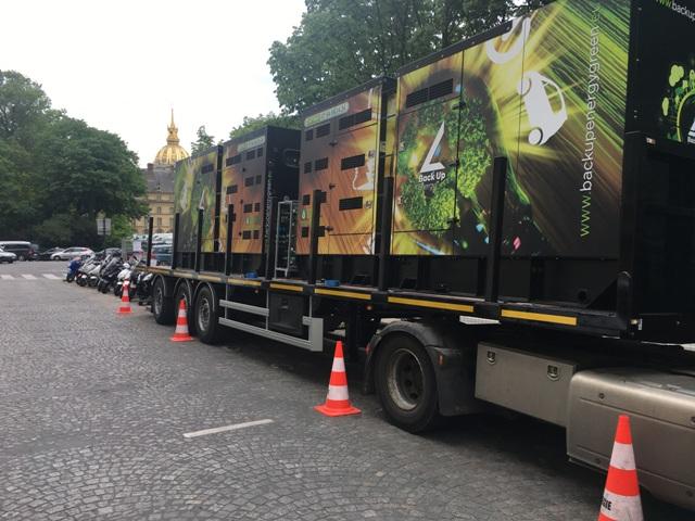Groupes électrogènes à l'huile végétale en transport