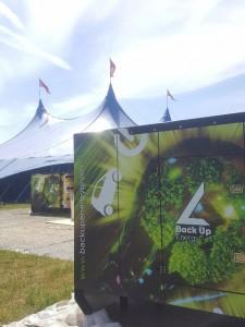 Groupe électrogène gelec back up energy festival welovegreen (4) - Groupe électrogène green welovegreen festival