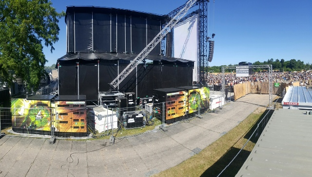 GELEC GENSETS AT THE WELOVEGREEN FESTIVAL!