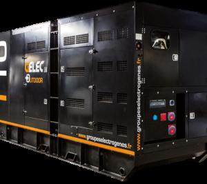 Gelec Outdoor 110kVA - Groupe électrogène OUTDOOR 110kVA