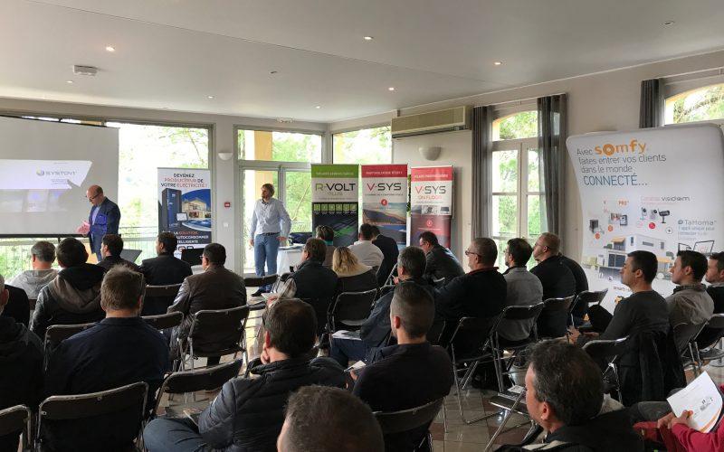 Participation d'Hybrid Energy à la réunion REXEL : «Le bâtiment : énergie positive»