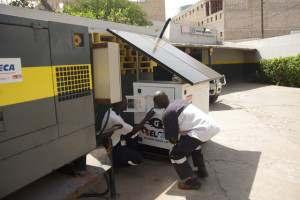 HPOD solaire dans une villa à Dakar