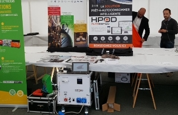 THE HPODs AT THE REXEL SHOW IN SAINTES AND ANGOULEME !