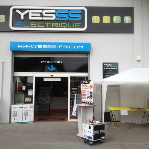 PRESENTATION OF OUR HPOD AT YESSS IN PERTUIS
