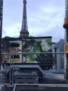 Groupe électrogène bioil Tour Eiffel Paris