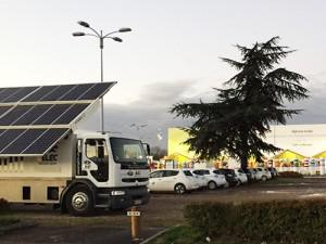 Hybrid Power Station GELEC à la COP21 à Paris