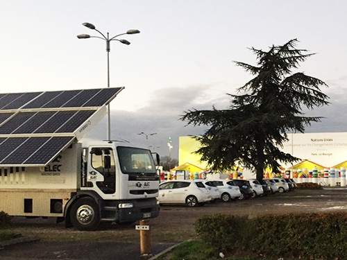 GELEC fournit de l'énergie à la COP21 !
