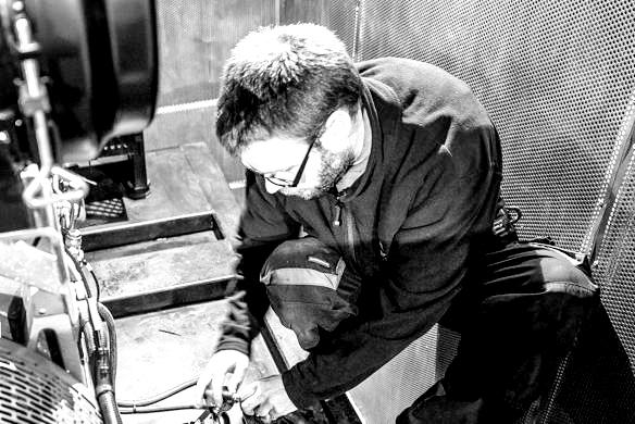 Dimitri Perrot électro-mécanicien