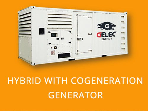 CHP and hybrid generator