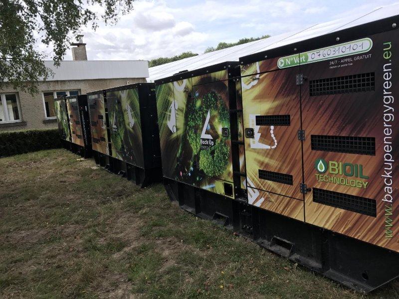 convention ALD - Groupe électrogène huile végétale Satory