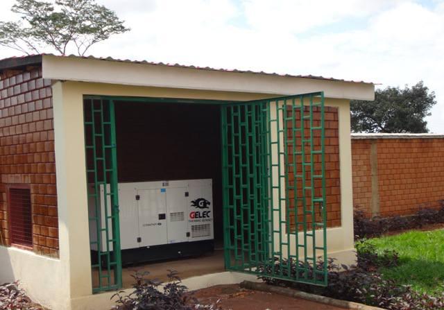Groupe électrogène diesel école Congo