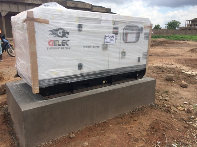 Un groupe électrogène GELEC au Burkina Faso