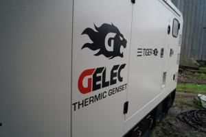 groupe électrogène gelec 250 kVA