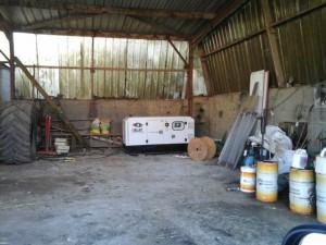 Groupe électrogène élevage de veaux