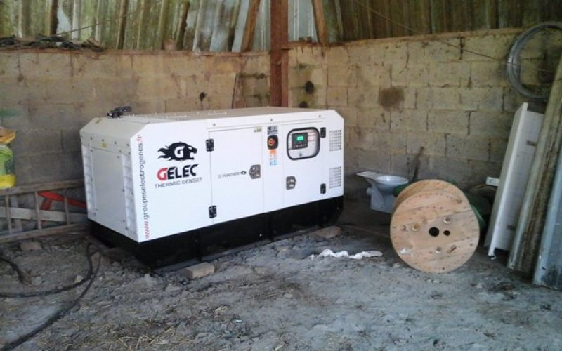 A 35 kVA GENERATOR SET FOR A CALF FARM!
