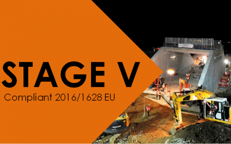 STAGE V : New regulation starting on the 1st january 2019