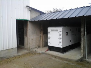 groupe électrogène 90 kVA generator maternité porcine