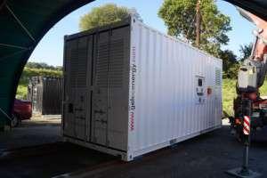 Container groupe électrogène 20 pieds280 kvA