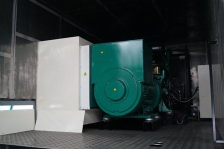 Groupe électrogène en conteneur Bretagne