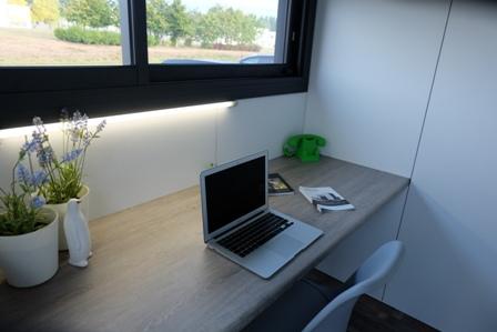 Les HPOD Mini encastrables équipent les bureaux EcoKub !