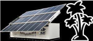 micro centrale électrique solaire avec stockage