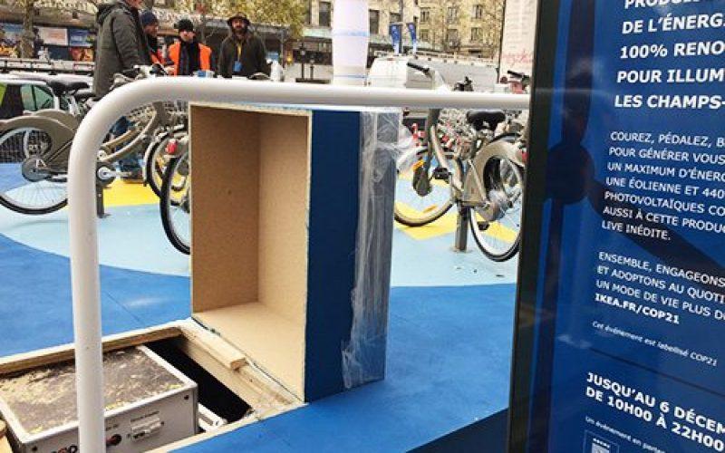 IKEA a choisi GELEC pour illuminer les Champs Elysées