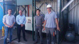 Installation d'un groupe électrogène GELEC - Sécurisation d'une centrale biomasse