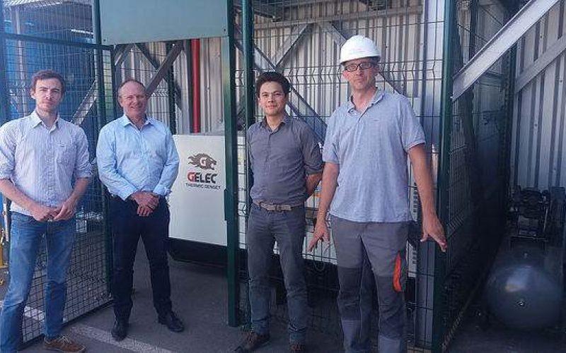 Installation d'un groupe électrogène GELEC chez Mini Green Power biomass plant !