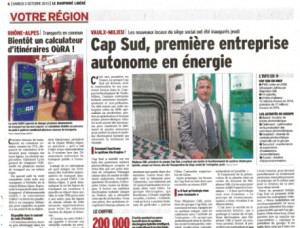 Press article about GELEC's Hybrid installation in Lyon