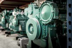 Spare parts stock for diesel generators